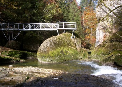 Brücke im Eistobel