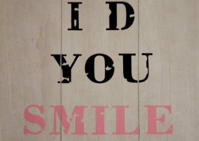 Lächeln erwünscht
