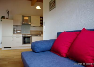 Gemütliches Sofa für lange Abende