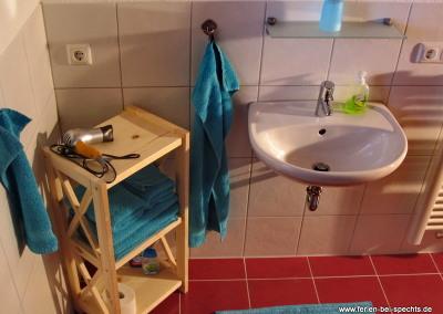 Ferienwohnung Specht - das Bad